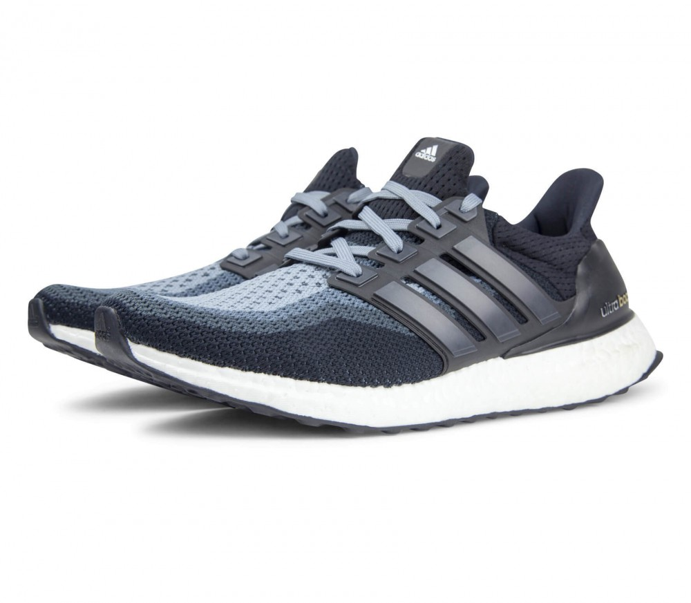 adidas ultra boost herren laufschuh schwarz grau im. Black Bedroom Furniture Sets. Home Design Ideas