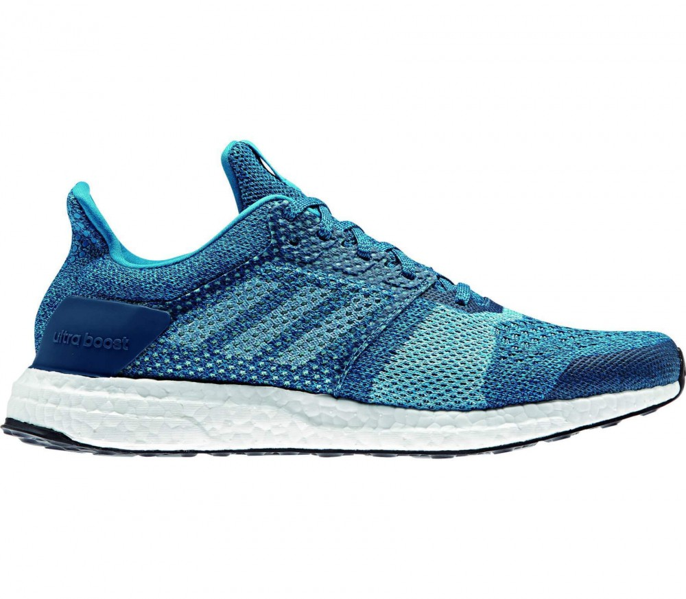 adidas ultra boost st herren laufschuh blau wei im online shop von keller sports kaufen. Black Bedroom Furniture Sets. Home Design Ideas
