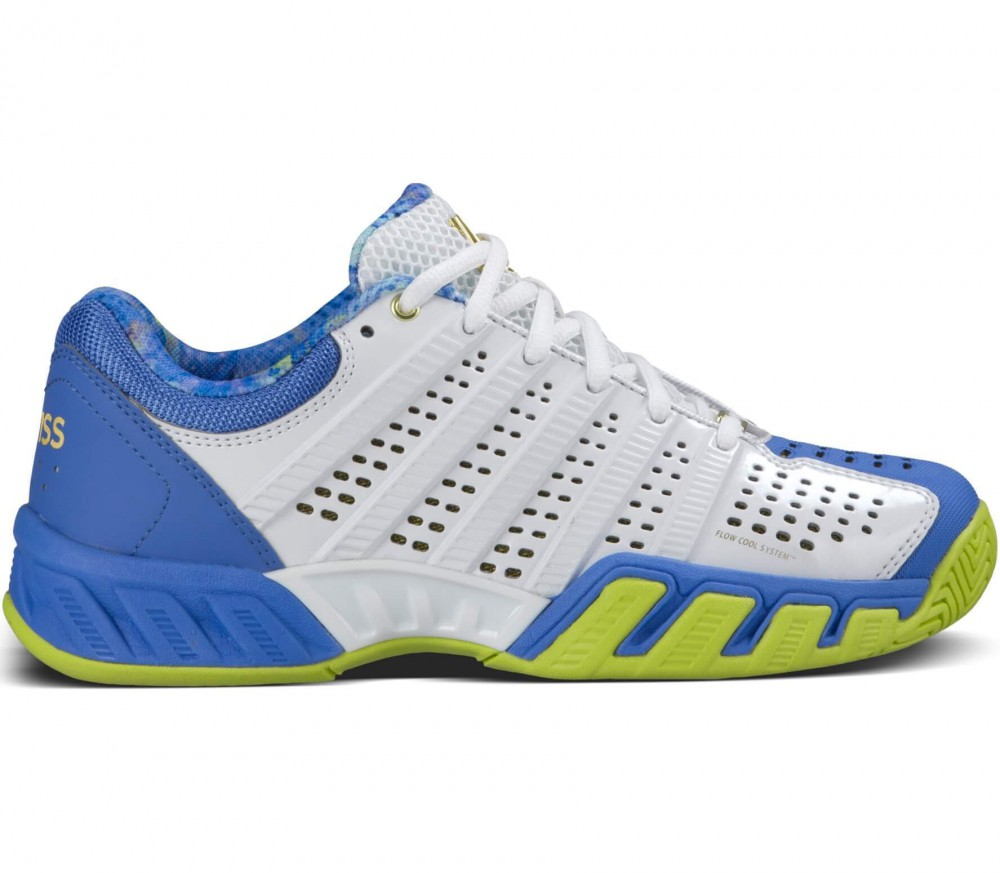 K-Swiss - Big Shot Light 2.5 50th Damen Tennisschuh (weiß/hellblau)