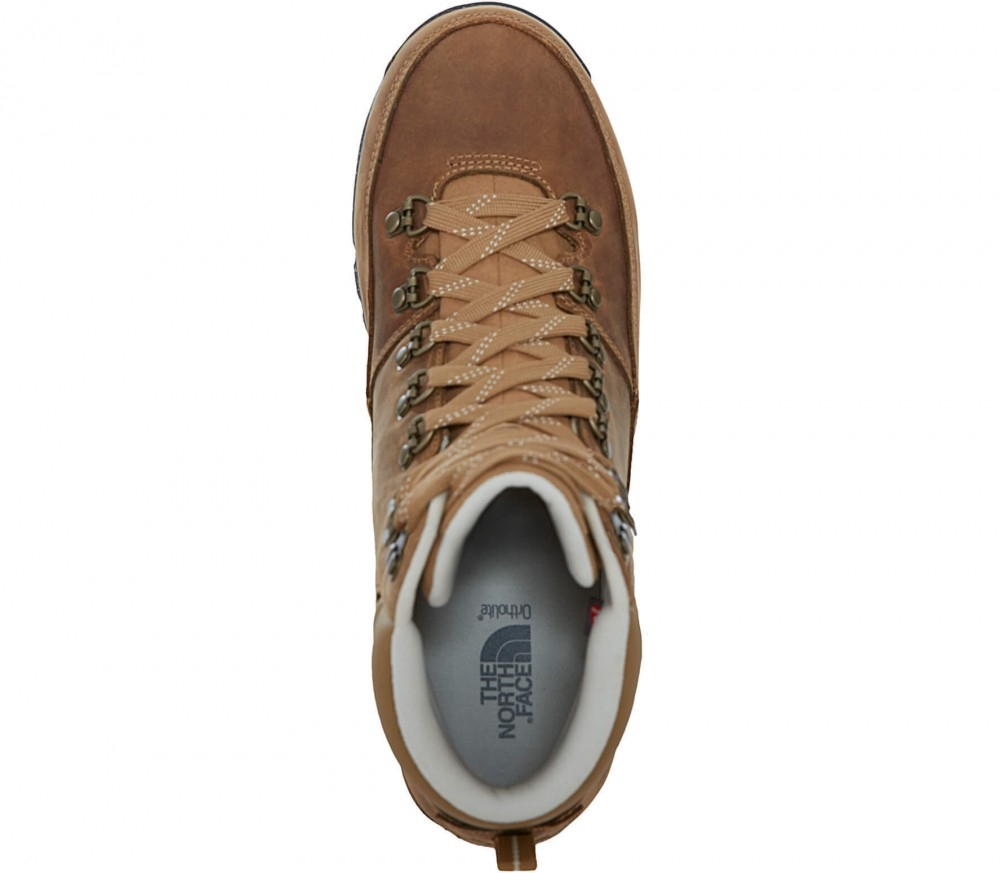 The North Face - Back To Berkeley Redux Leather Herren Winterschuh (braun/beige)