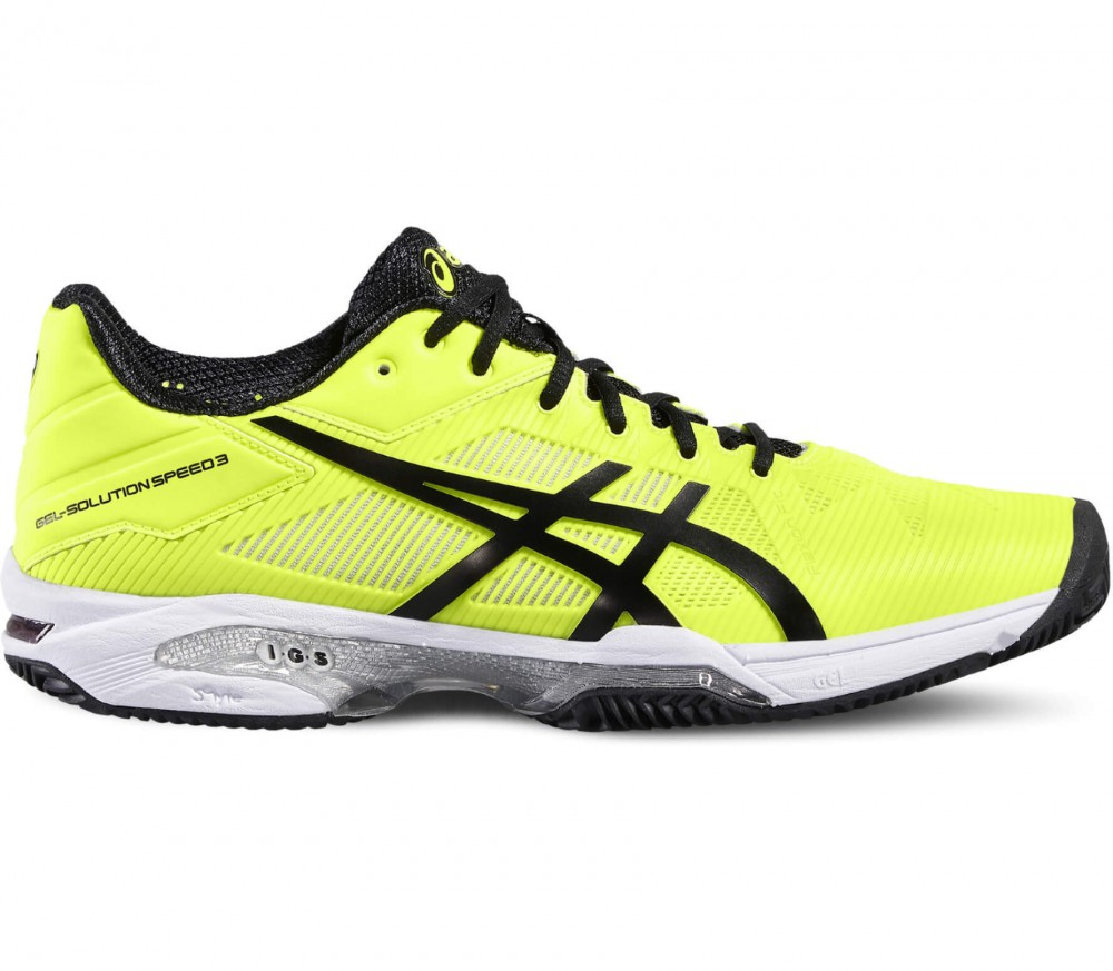ASICS - Gel-Solution Speed 3 Clay Special Herren Tennisschuh (gelb/schwarz)