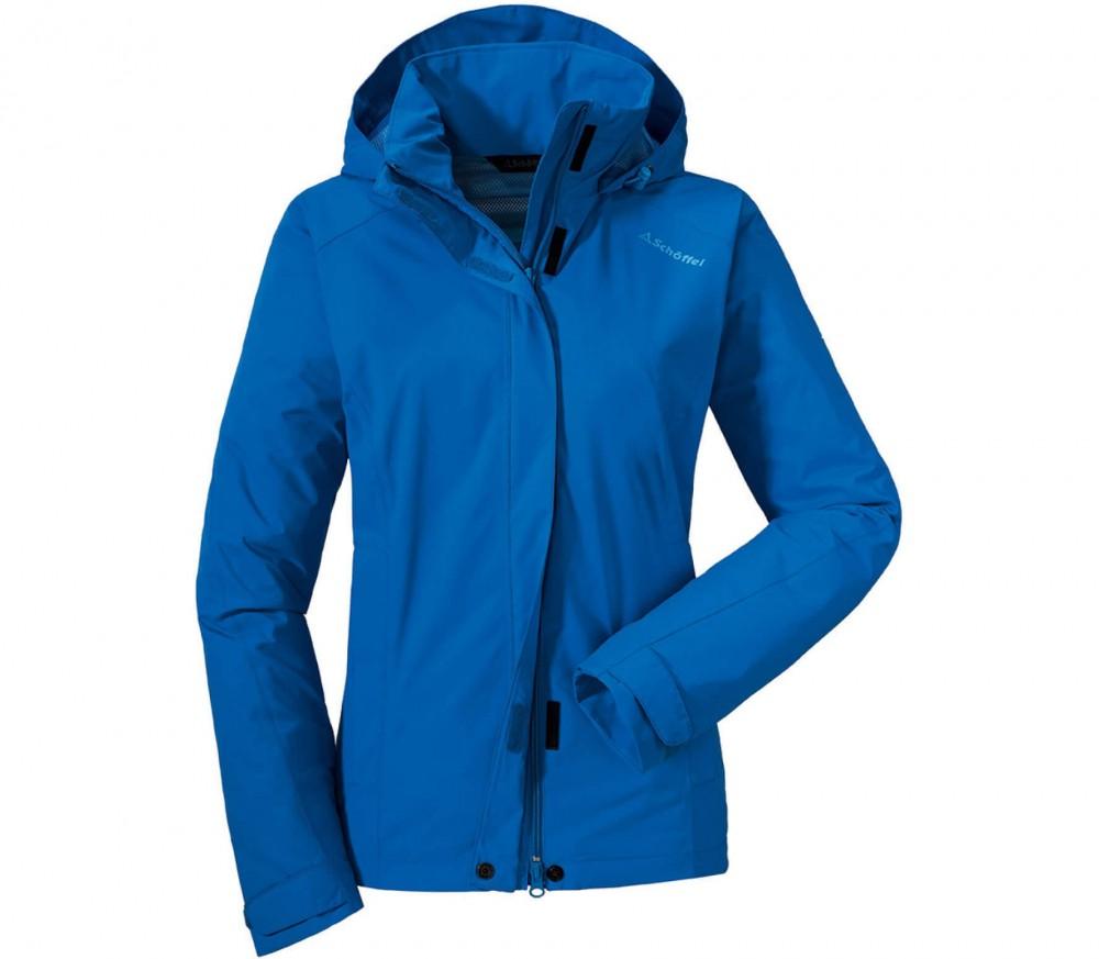 sch ffel easy ii damen regenjacke blau im online shop von keller sports kaufen. Black Bedroom Furniture Sets. Home Design Ideas