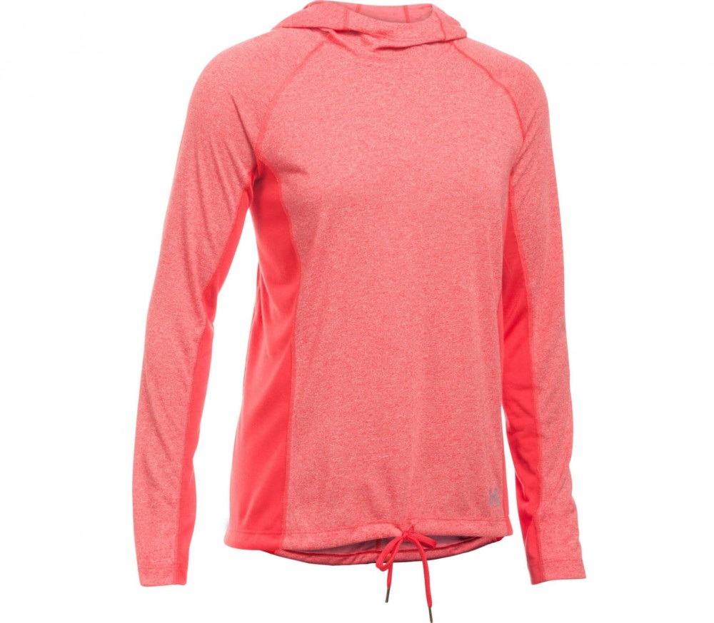 Under Armour - Threadborne Twist Damen Trainingshoody (rot)