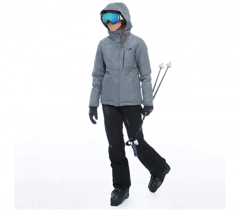 The North Face - Ravina Damen Skijacke (grau)