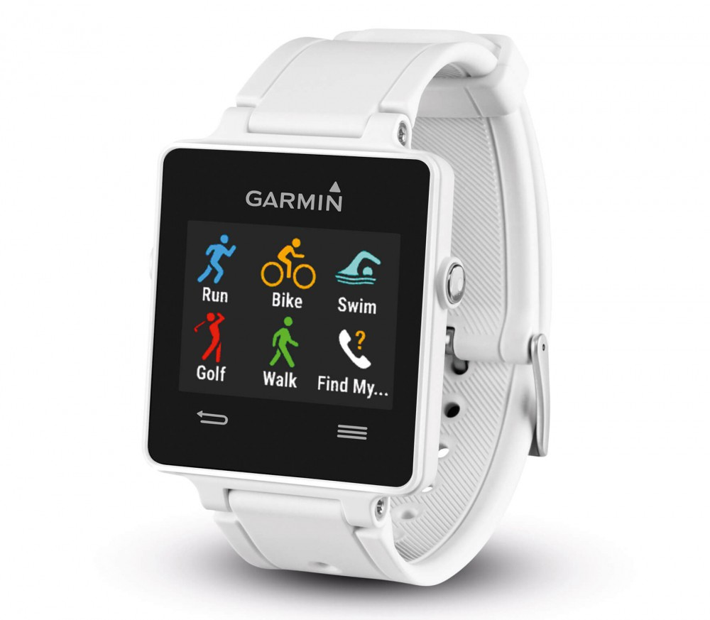 garmin vivoactive running uhr wei im online shop von. Black Bedroom Furniture Sets. Home Design Ideas