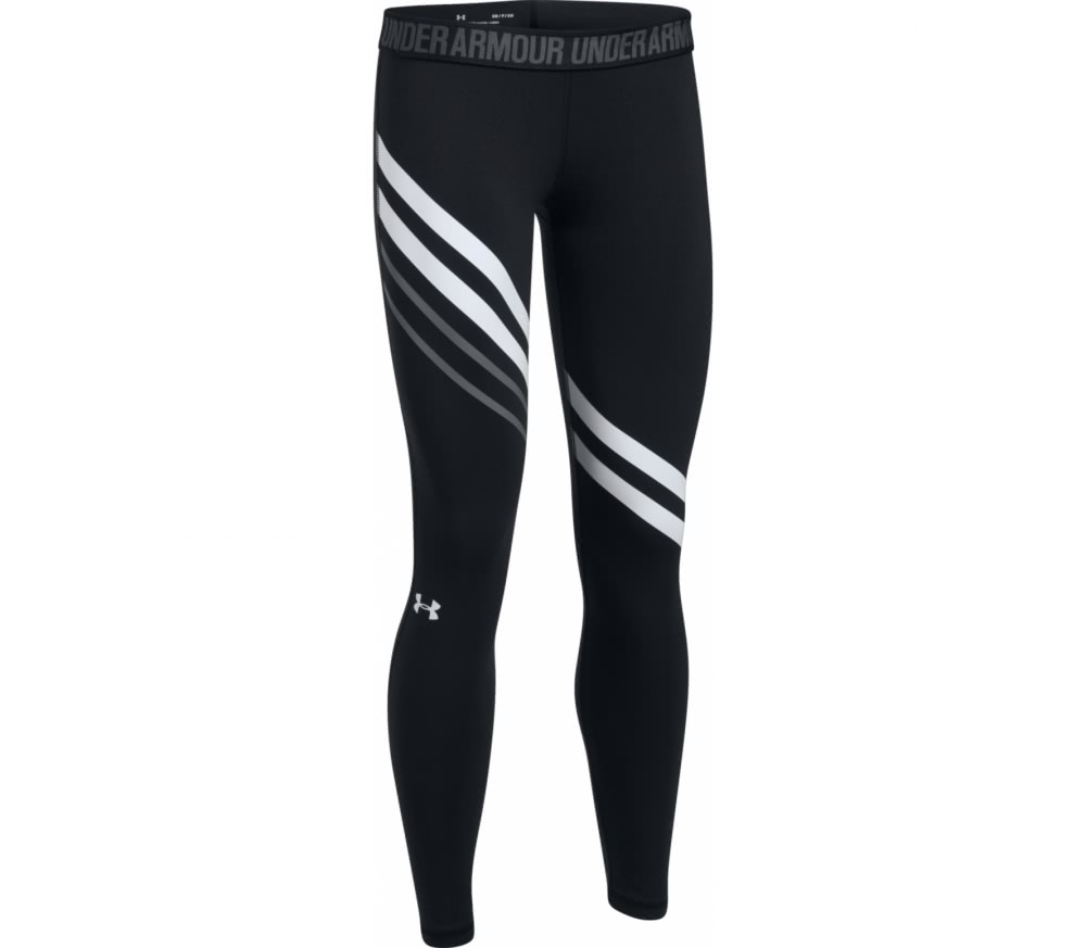 Under Armour - Favorite Damen Trainingslegging (schwarz/weiß)