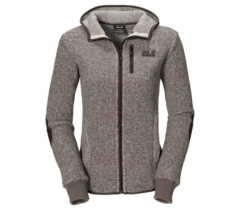 jack wolfskin milton damen fleecejacke dunkelgrau im online shop von keller sports kaufen. Black Bedroom Furniture Sets. Home Design Ideas