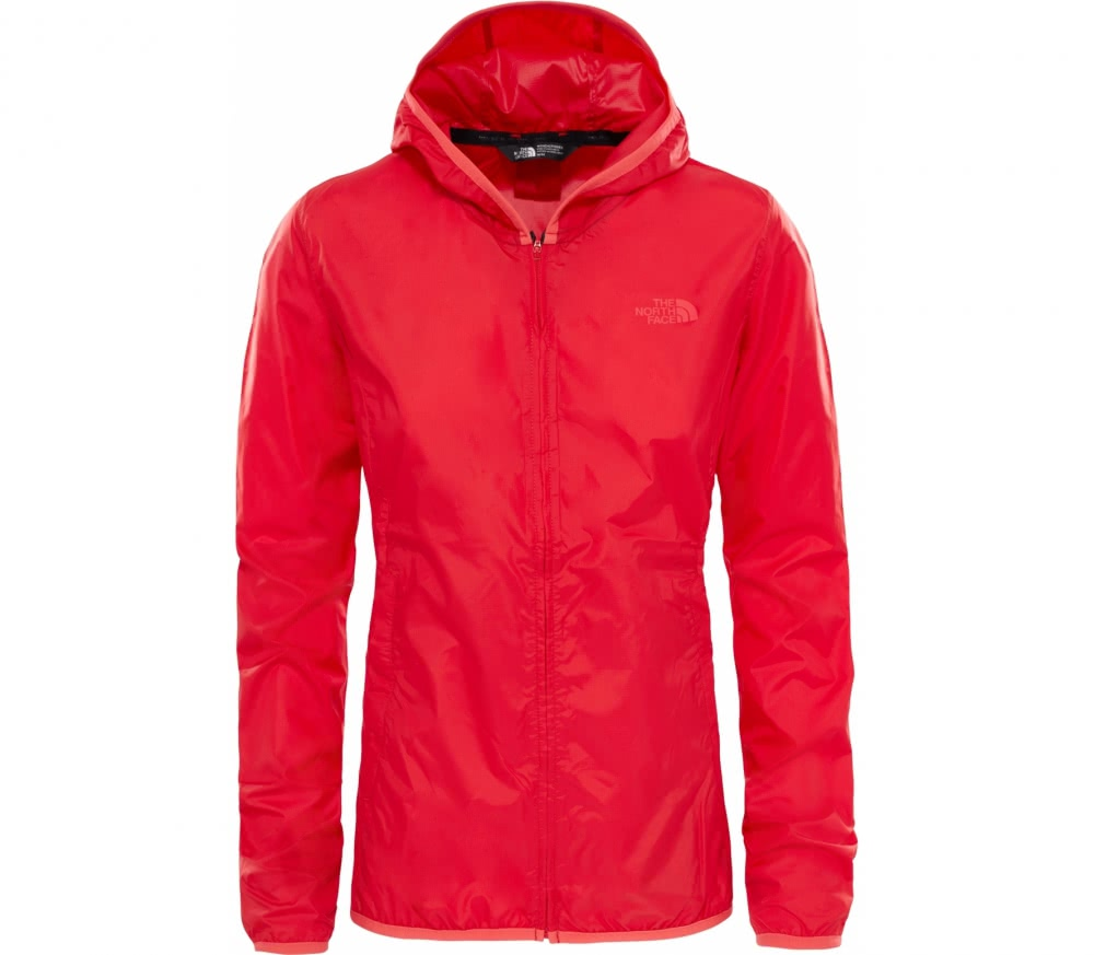 the north face tanken windwall damen windbreaker jacke rot im online shop von keller sports. Black Bedroom Furniture Sets. Home Design Ideas
