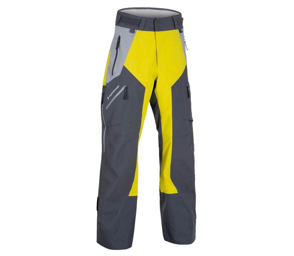 peak performance heli gravity active herren skihose gelb im online shop von keller sports kaufen. Black Bedroom Furniture Sets. Home Design Ideas