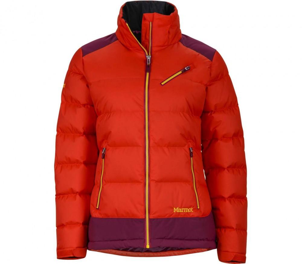 marmot sling shot damen skijacke orange lila im online shop von keller sports kaufen. Black Bedroom Furniture Sets. Home Design Ideas