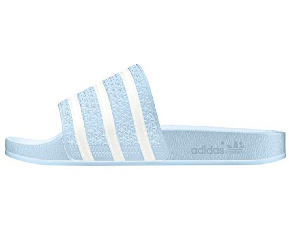 adidas adilette damen trainingsschuh hellblau wei im. Black Bedroom Furniture Sets. Home Design Ideas