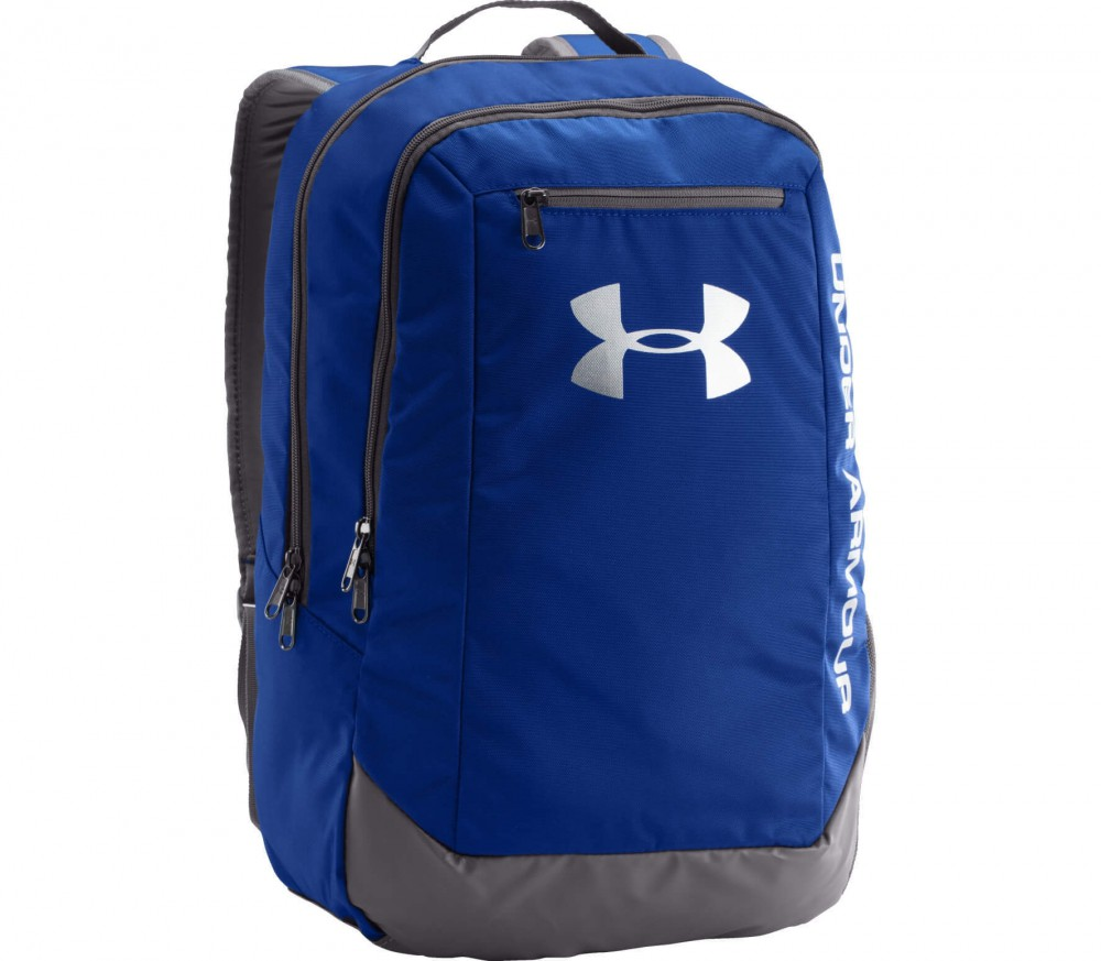 Under Armour - Hustle Backpack LDWR (blau/grau)