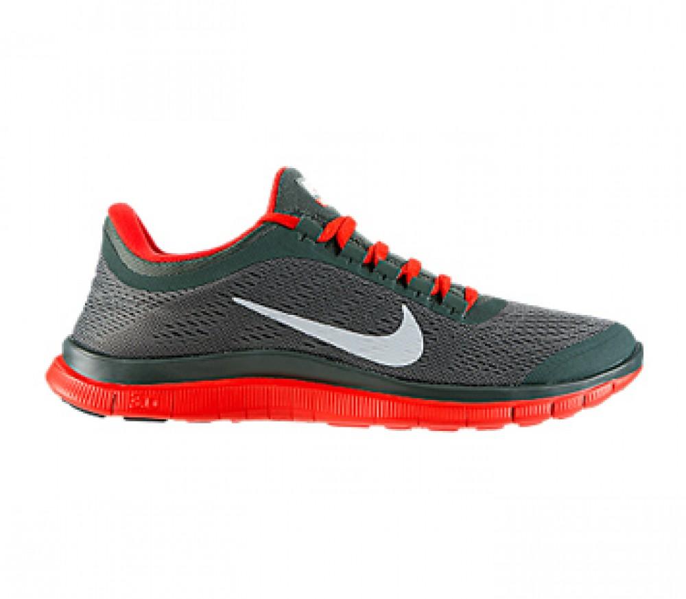 Nike Free 3.0 Grau Rot