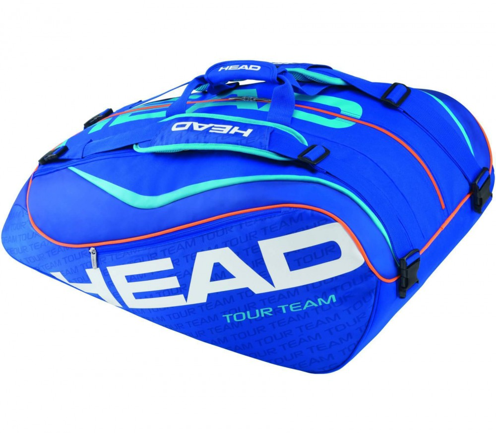 Head - Tour Team 12 R Monstercombi Tennistasche (blau/dunkelblau)