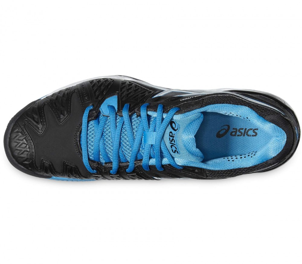 ASICS - Gel-Resolution 6 Clay Herren Tennisschuh (schwarz/blau)