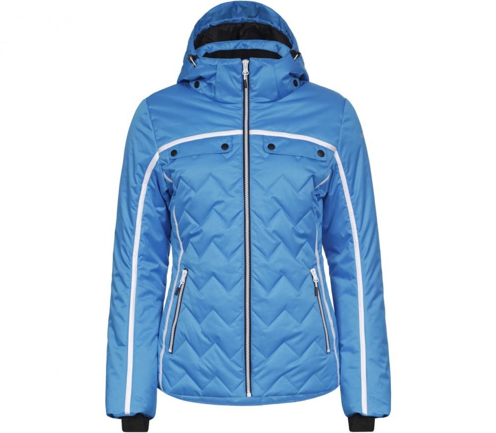 icepeak venda padded damen skijacke blau schwarz im online shop von keller sports kaufen. Black Bedroom Furniture Sets. Home Design Ideas