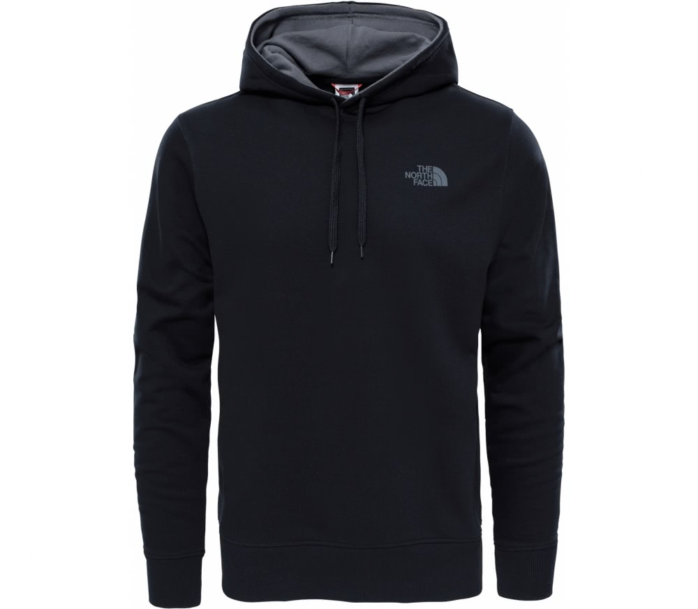 the north face seasonal drew peak herren hoodie schwarz. Black Bedroom Furniture Sets. Home Design Ideas