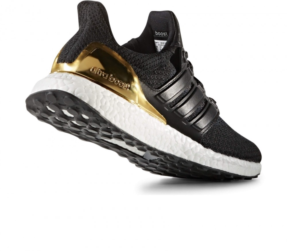 adidas ultra boost ltd herren laufschuh schwarz gold. Black Bedroom Furniture Sets. Home Design Ideas