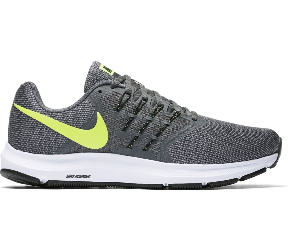 brand new 0b734 0babe ... Schuhe,Nike Sportswear Modern SchwarzSchwarz Cape,. NikeRun Swift  LaufschuheHerren grau   neongelb