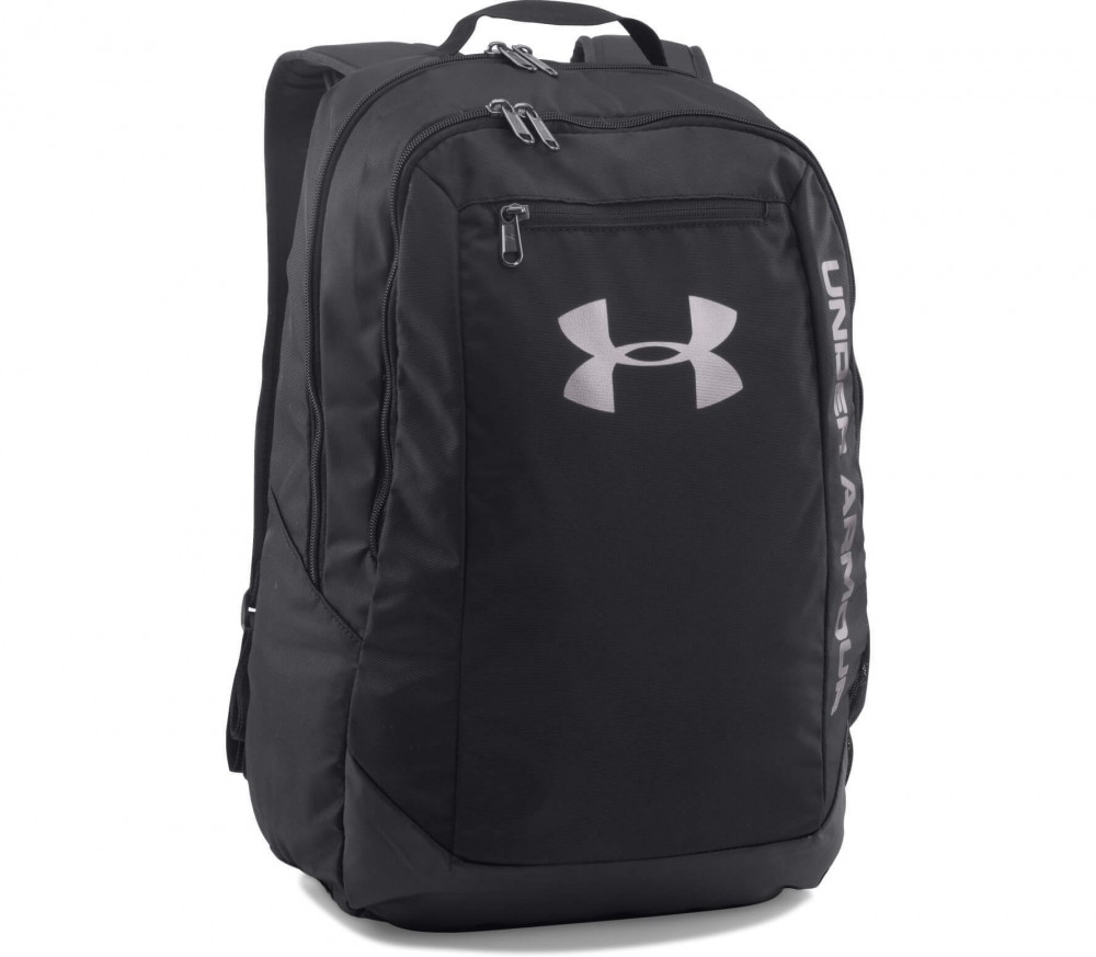 Under Armour - Hustle Backpack LDWR (schwarz/weiß)