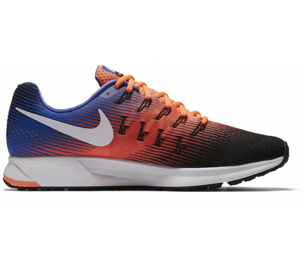 nike air zoom pegasus 33 herren laufschuh orange blau. Black Bedroom Furniture Sets. Home Design Ideas