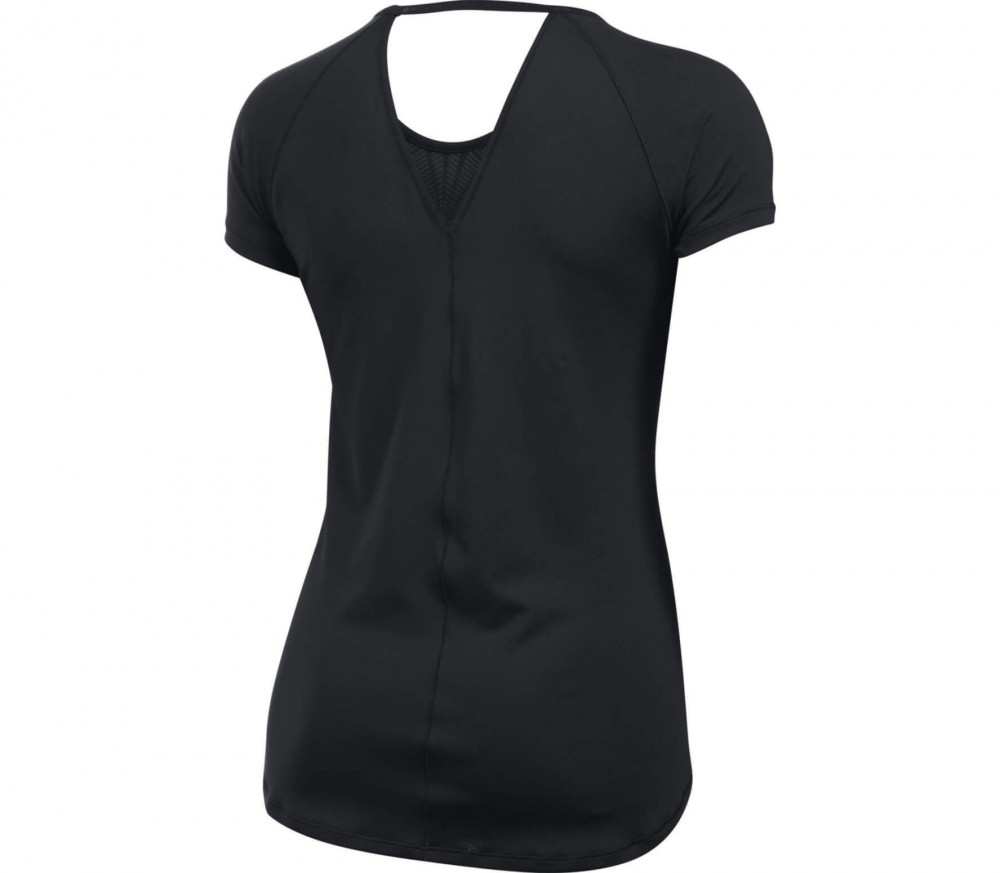 Under Armour - Heatgear Armour Coolswitch Shortsleeve Damen Trainingsshirt (schwarz)