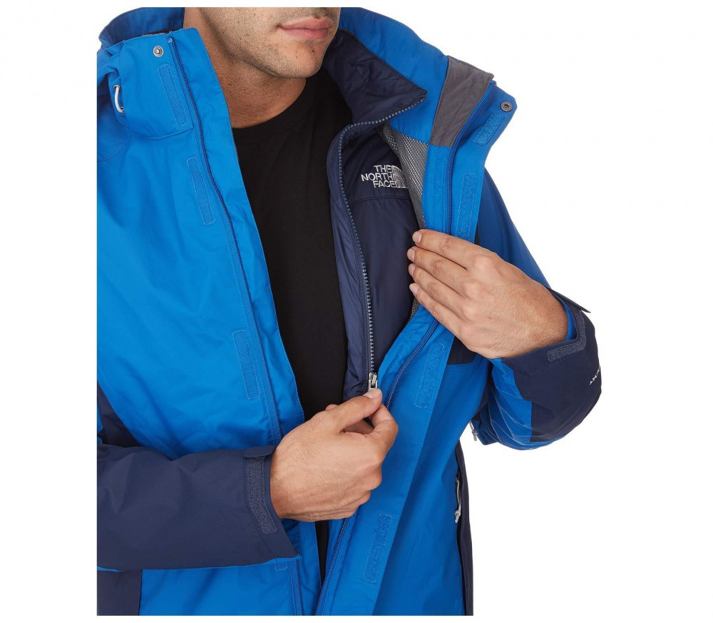 the north face zenith triclimate herren regenjacke blau im online shop von keller sports kaufen. Black Bedroom Furniture Sets. Home Design Ideas