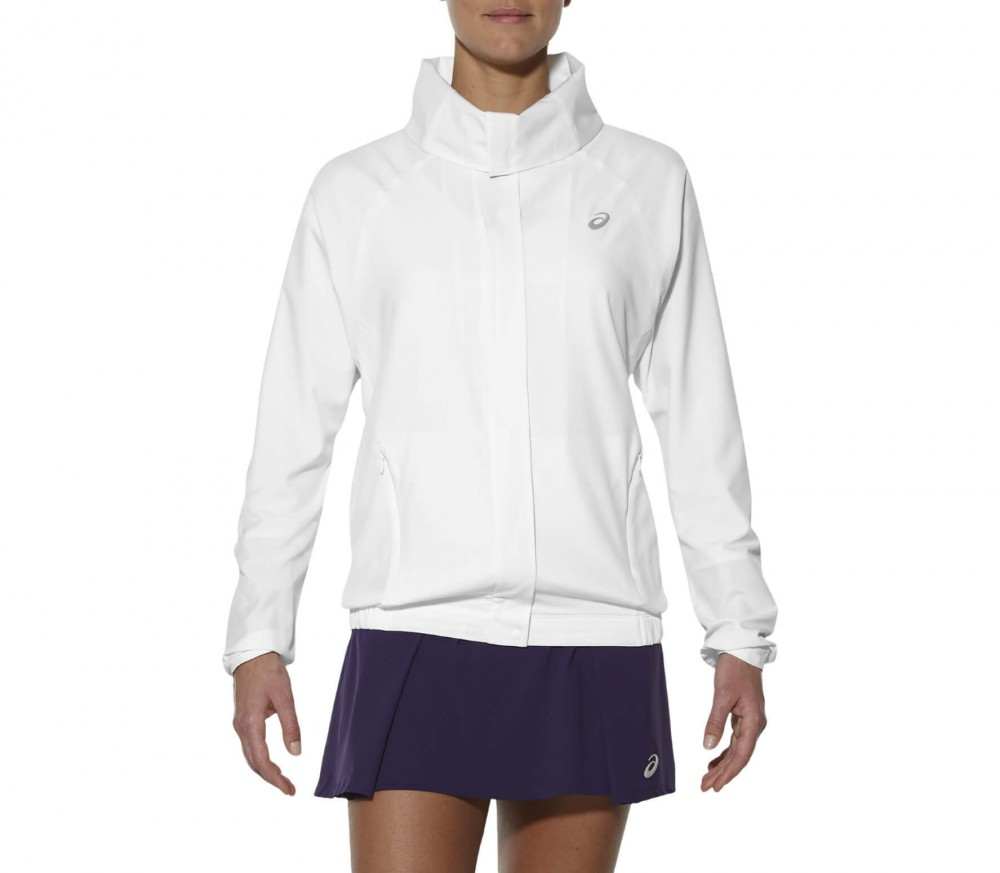 Asics - Athlete Damen Tennisjacke (weiß)