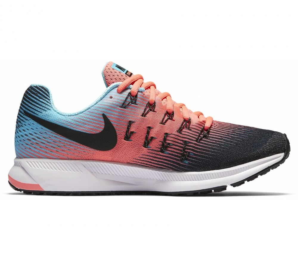 Nike - Air Zoom Pegasus 33 Damen Laufschuh (orange/türkis)