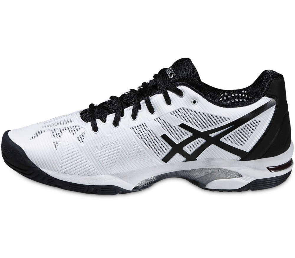 Asics - Gel-Solution Speed 3 Herren Tennisschuh (schwarz/weiß)