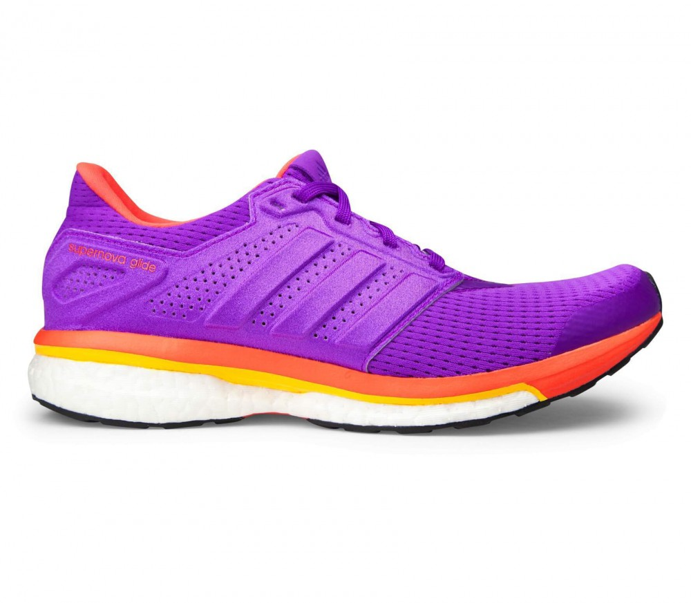 Adidas - Supernova Glide 8 Damen Laufschuh (lila/orange)
