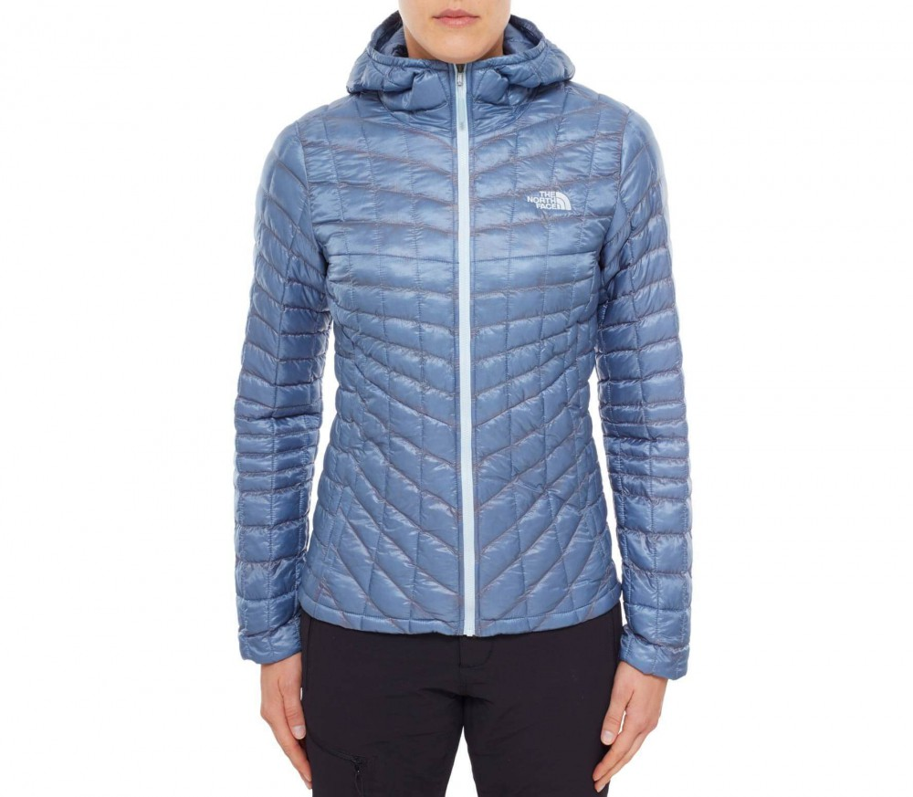 the north face thermoball damen primaloft jacke hellblau im online shop von keller sports kaufen. Black Bedroom Furniture Sets. Home Design Ideas