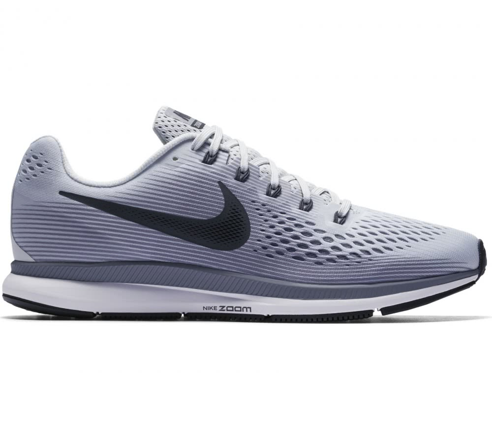 nike air zoom pegasus 34 herren laufschuh grau im. Black Bedroom Furniture Sets. Home Design Ideas