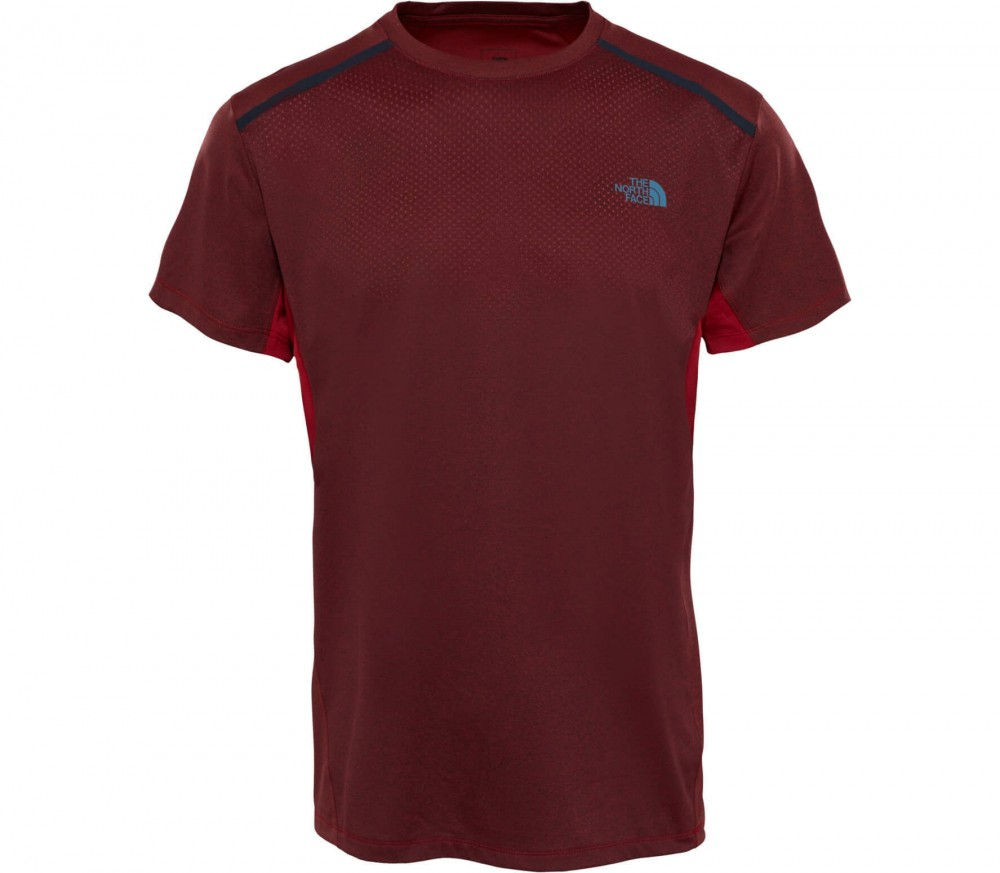 The North Face - Kilowatt Shortsleeve Crew Neck Herren Funktionsshirt (rot)