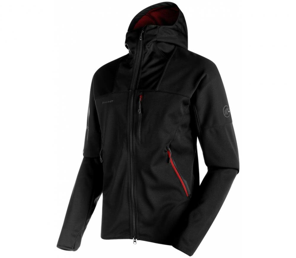 mammut ultimate hoodie herren softshelljacke schwarz im online shop von keller sports kaufen. Black Bedroom Furniture Sets. Home Design Ideas