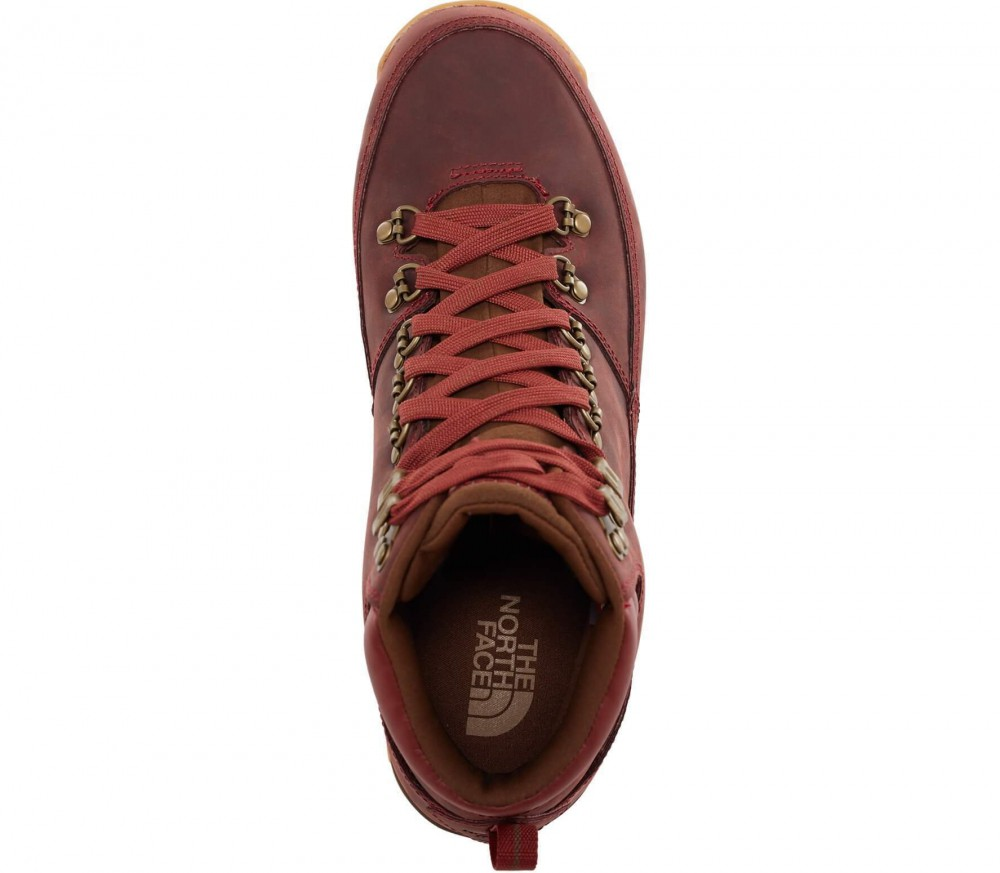 The North Face - Back To Berkeley Redux Leather Herren Winterschuh (rot/braun)
