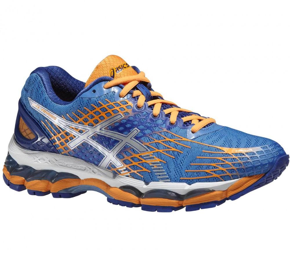 ASICS - Gel-Nimbus 17 Damen Laufschuh (blau/orange)