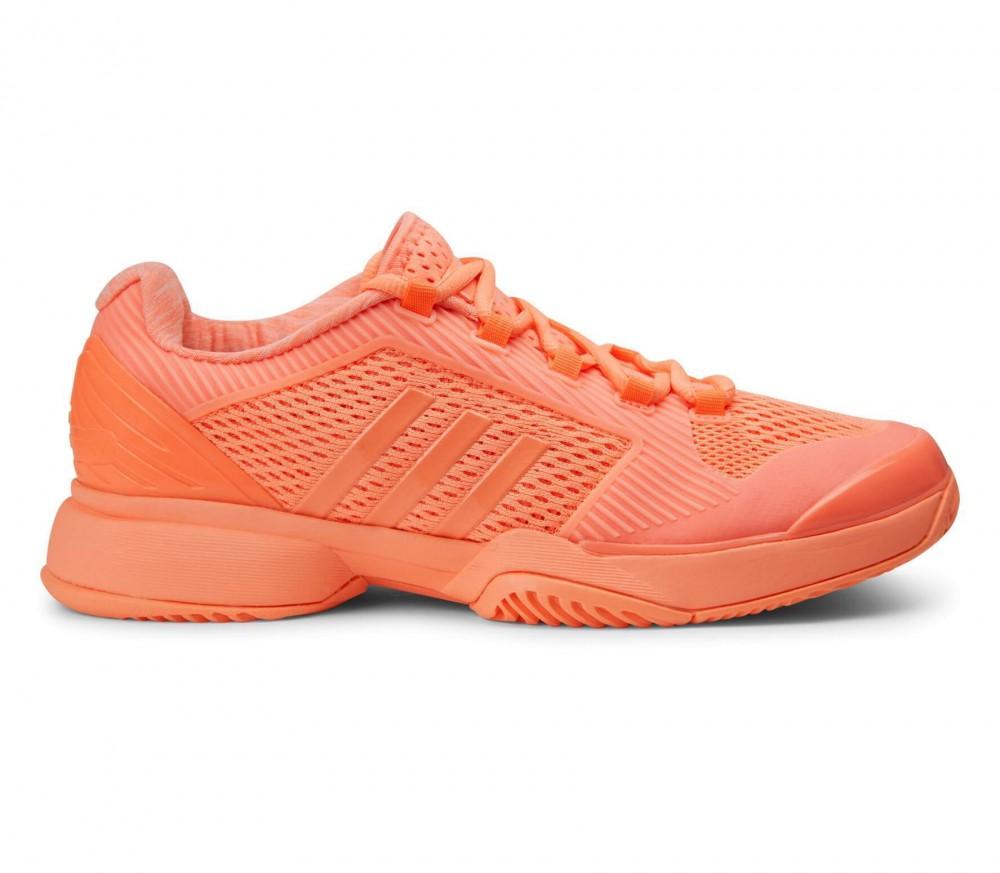 adidas asmc barricade 2016 damen tennisschuh orange im online shop von keller sports kaufen. Black Bedroom Furniture Sets. Home Design Ideas