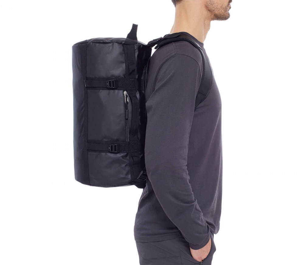 the north face base camp duffel bag xs schwarz im online shop von keller sports kaufen. Black Bedroom Furniture Sets. Home Design Ideas