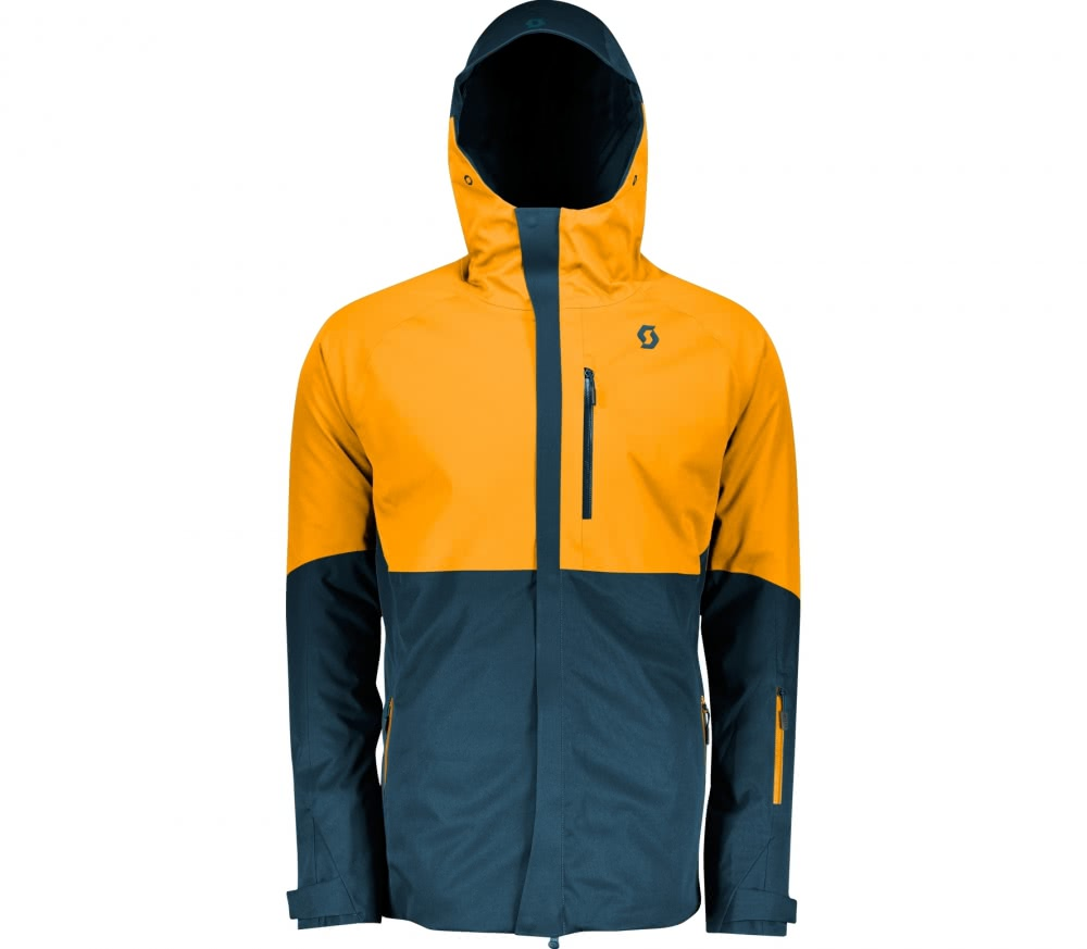 scott jacket ultimate dryo 10 herren skijacke blau. Black Bedroom Furniture Sets. Home Design Ideas