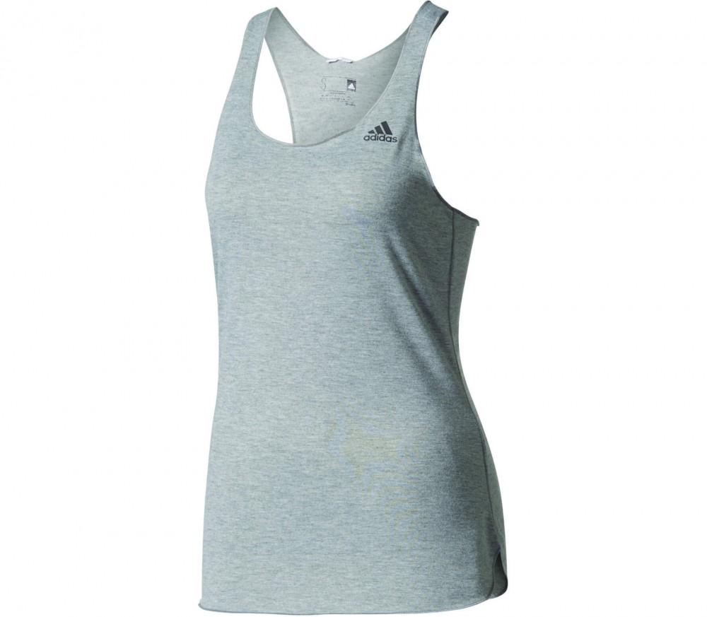 Adidas - Prime Damen Trainingstank (grau)