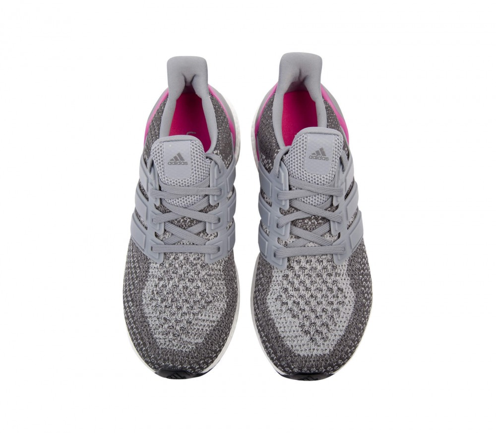 adidas ultra boost damen laufschuh grau pink im online. Black Bedroom Furniture Sets. Home Design Ideas