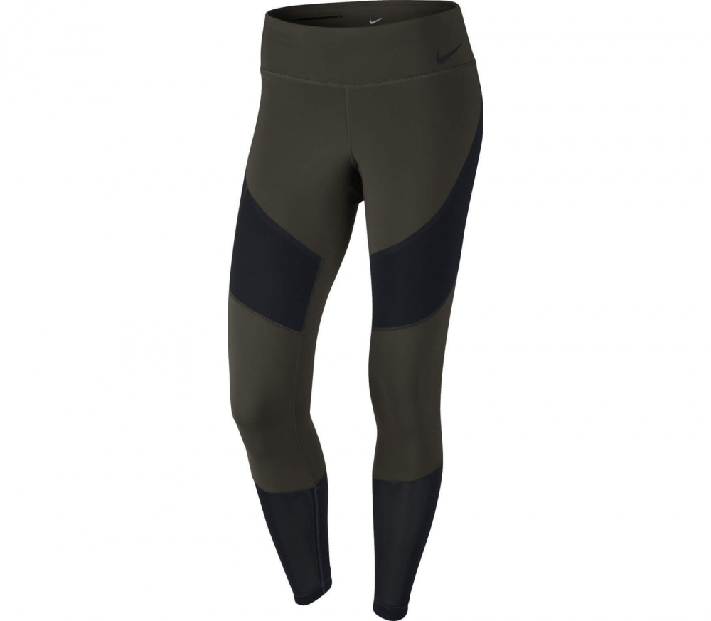 Nike - Power Legendary Damen Trainingstight (grün/schwarz)