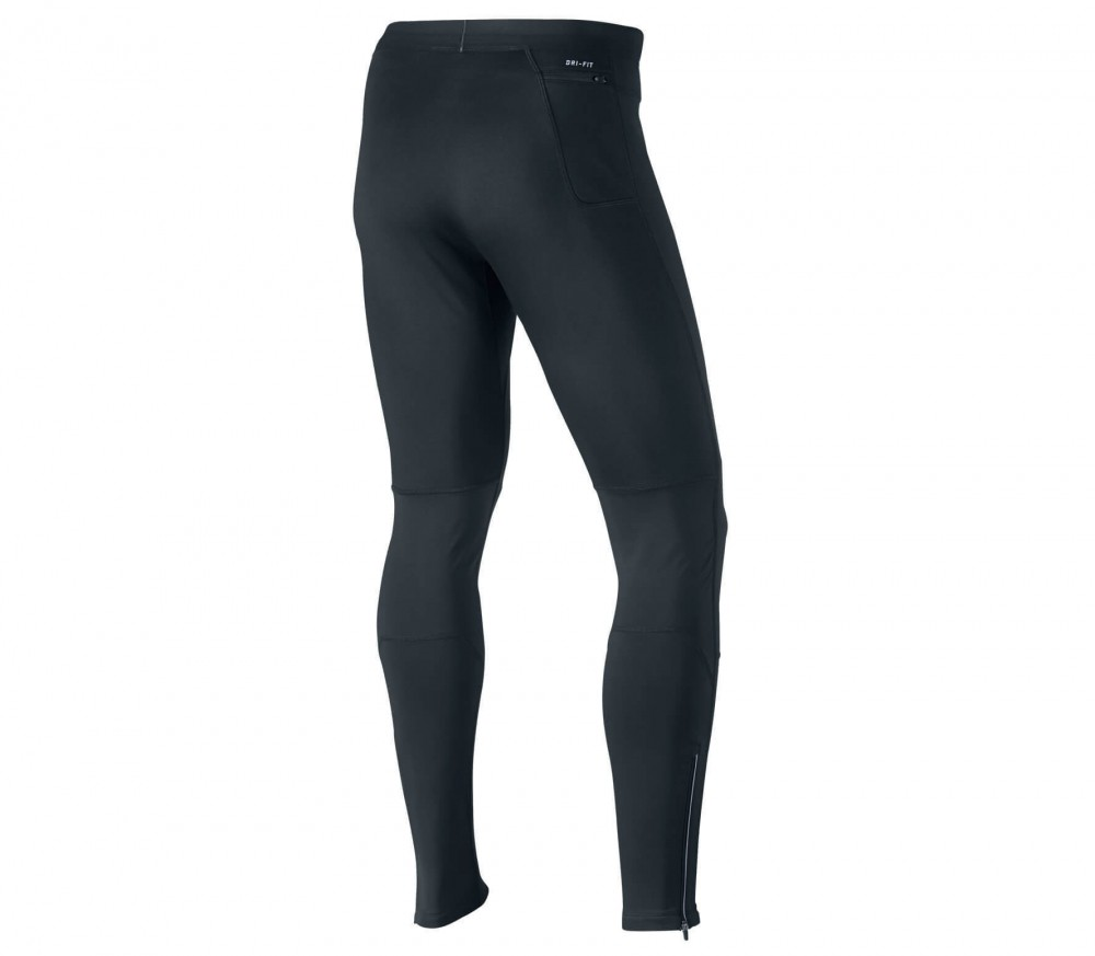 Nike - Dri Fit Shield Tight Herren Laufhose (schwarz)