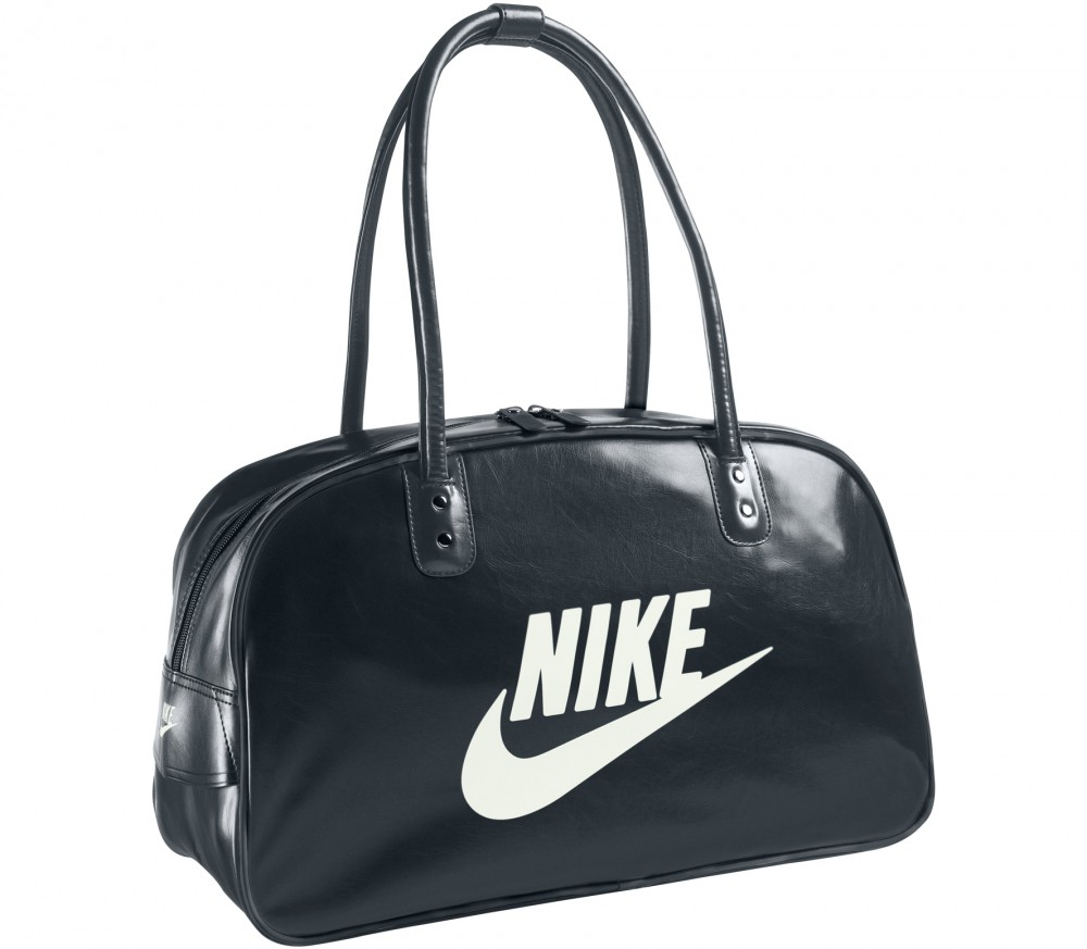 nike heritage si shoulder club tasche schwarz im online shop von keller sports kaufen. Black Bedroom Furniture Sets. Home Design Ideas