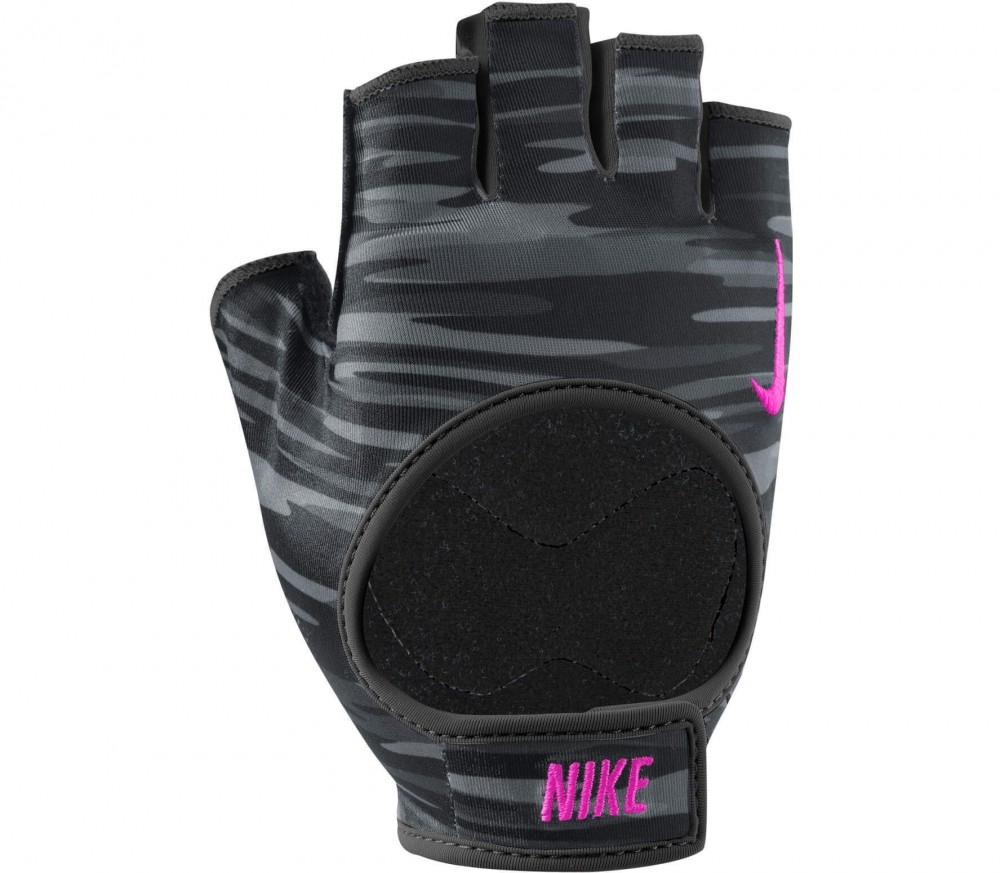 Nike - Women's Fit Training Handschuhe (schwarz/pink)