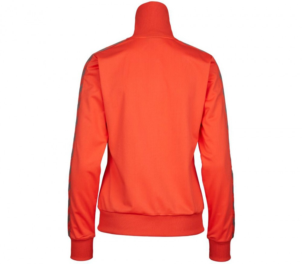 hummel classic bee zip damen trainingsjacke rot im online shop von keller sports kaufen. Black Bedroom Furniture Sets. Home Design Ideas