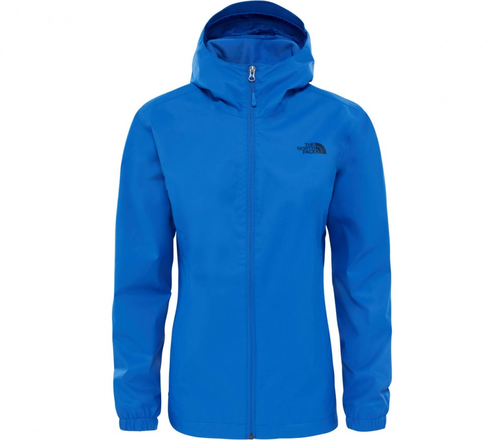 the north face quest damen regenjacke blau im online shop von keller sports kaufen. Black Bedroom Furniture Sets. Home Design Ideas