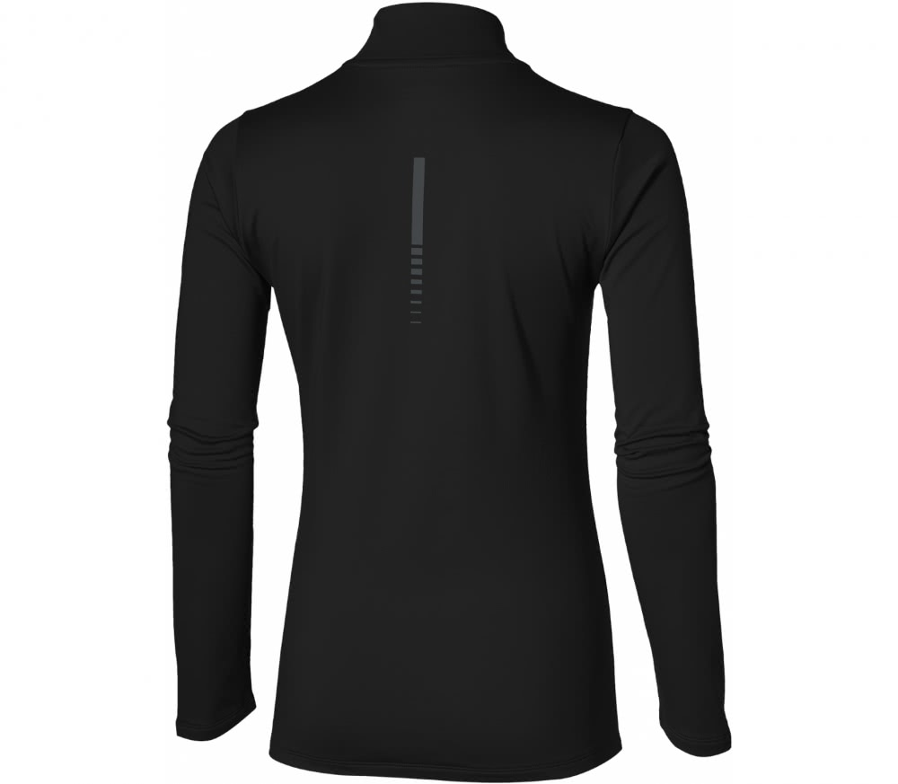 asics herren essentials winter 1/2 zip laufshirt