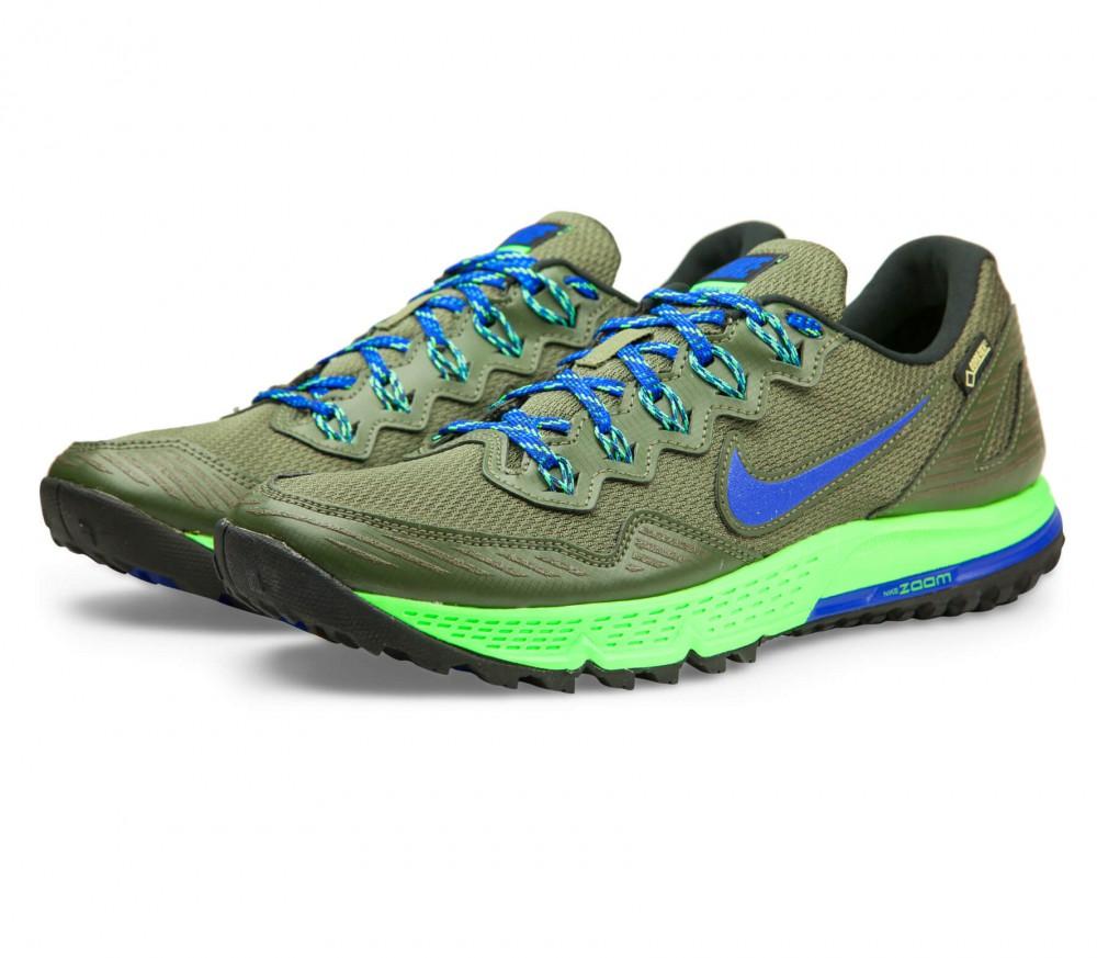 Nike - Air Zoom Wildhorse 3 GTX Herren Laufschuh (blau/khaki)